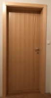 Notranja vrata dekorativna letvica