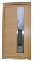 Moderna vhodna vrata inox