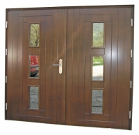 Masivna garazna vrata Klara