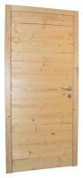 Lesena notranja vrata precno