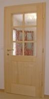 Vrata na dva polnila steklo