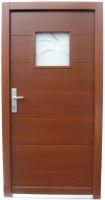 Stranska lesena vrata