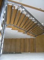 Lesene rustikalne stopnice
