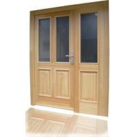 lesena-vhodna-vrata
